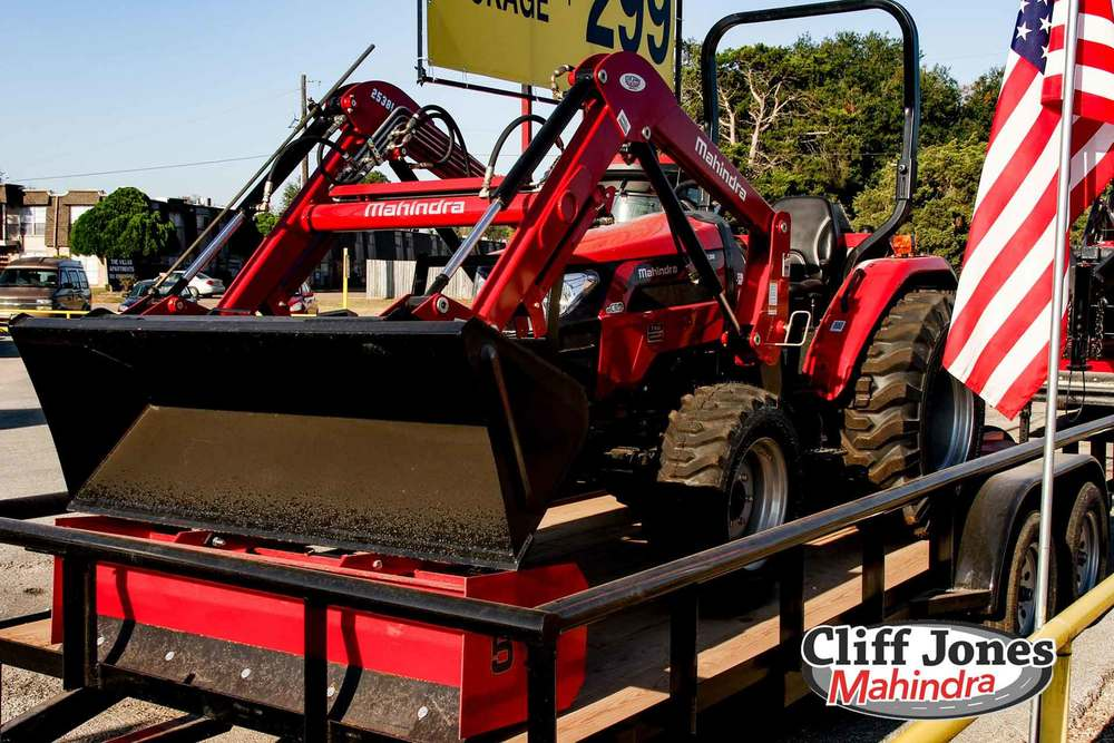 2018 Mahindra 2638 HST 4WD Tractor Package M2638P | Cliff