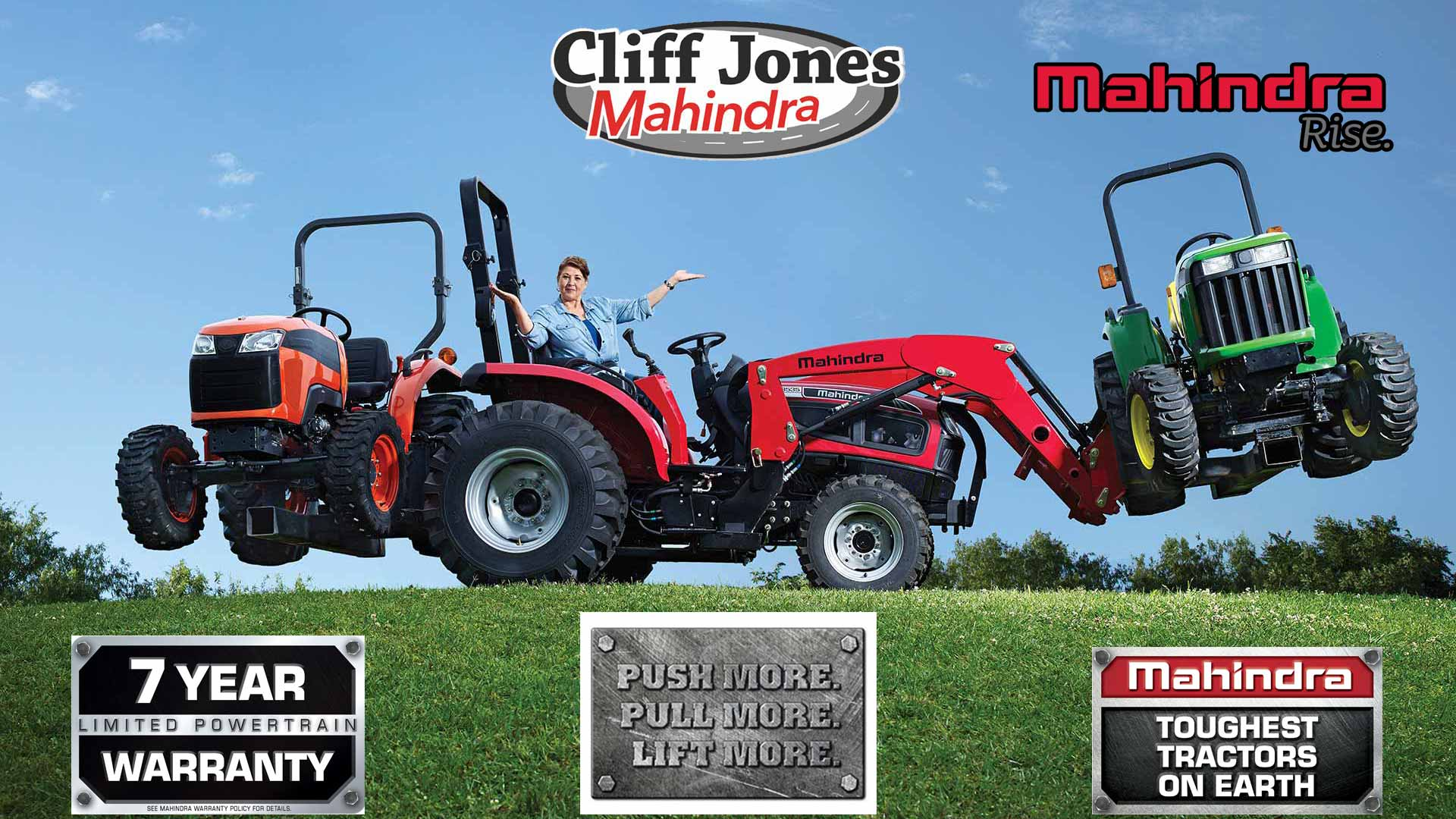 Cliff Jones Tractor In Sealy, Texas | Why The Mahindra